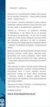 Festiwal dworów i pałaców - program 2019 strona 2