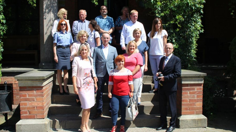 Spotkanie z beneficjentami projektu na zamku w Rzucewie